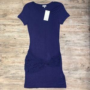NWT Tobi Knot T-Shirt Dress